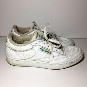 011cacef4a3347 Reebok Shoes - Vintage Reebok Classic Club C 85 Shoes White 10.5